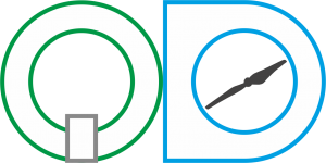 QD Logo líneas
